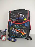 Рюкзак каркасный для мальчиков, ортопедическая спинка размер 37х35х15, фото 1