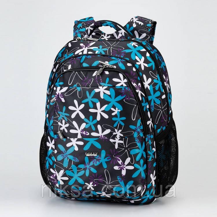 Рюкзак школьный Dolly 535 размер 30х39х21
