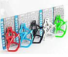 Флягодержатель велосипедный / крепление для фляги пластик / диаметр фляги до 80 мм / 50 г / 4 цвета, фото 10
