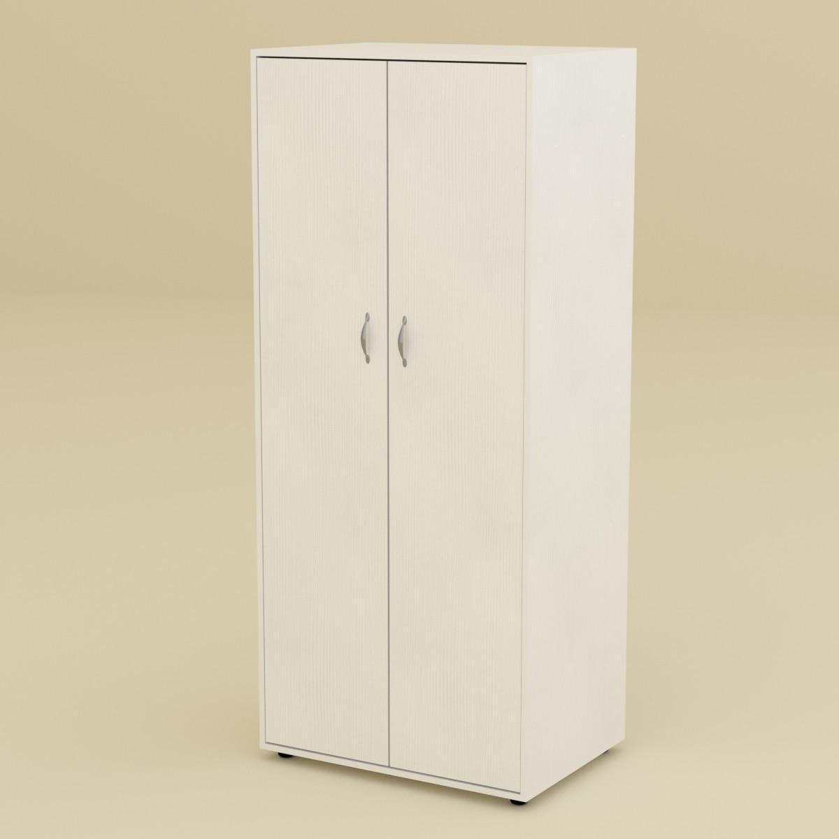 Шкаф-18 белый Компанит (80х62х203 см)