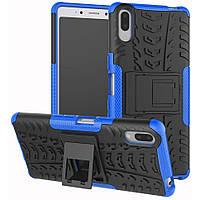 Чехол Armor Case для Sony Xperia L3 Blue