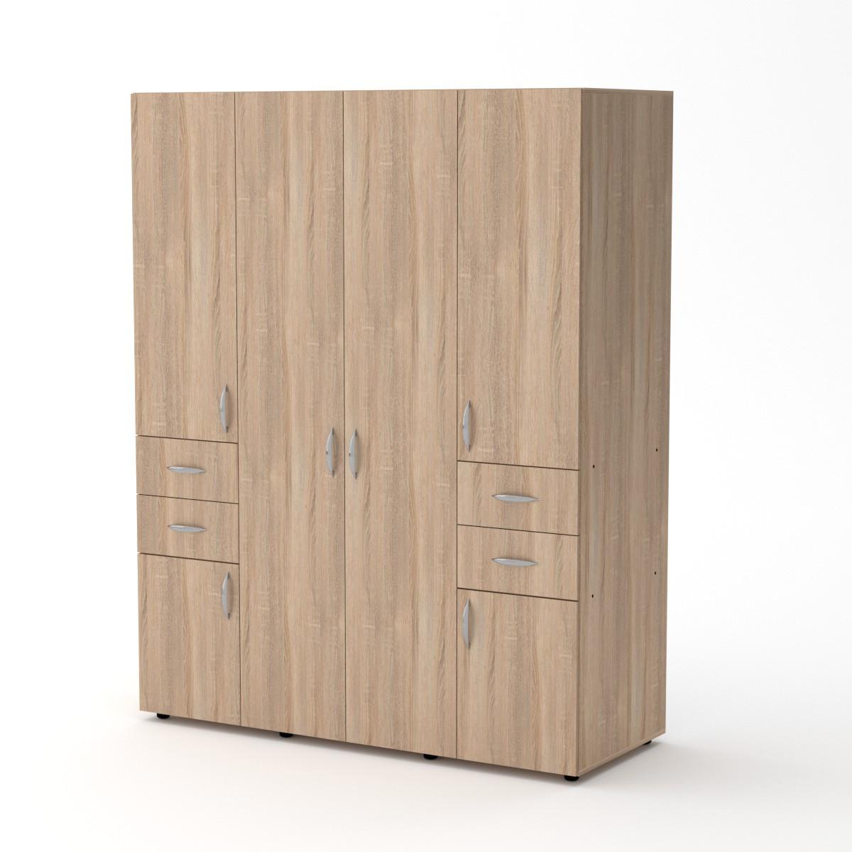 Шкаф-20 дуб сонома Компанит (160х62х203 см)