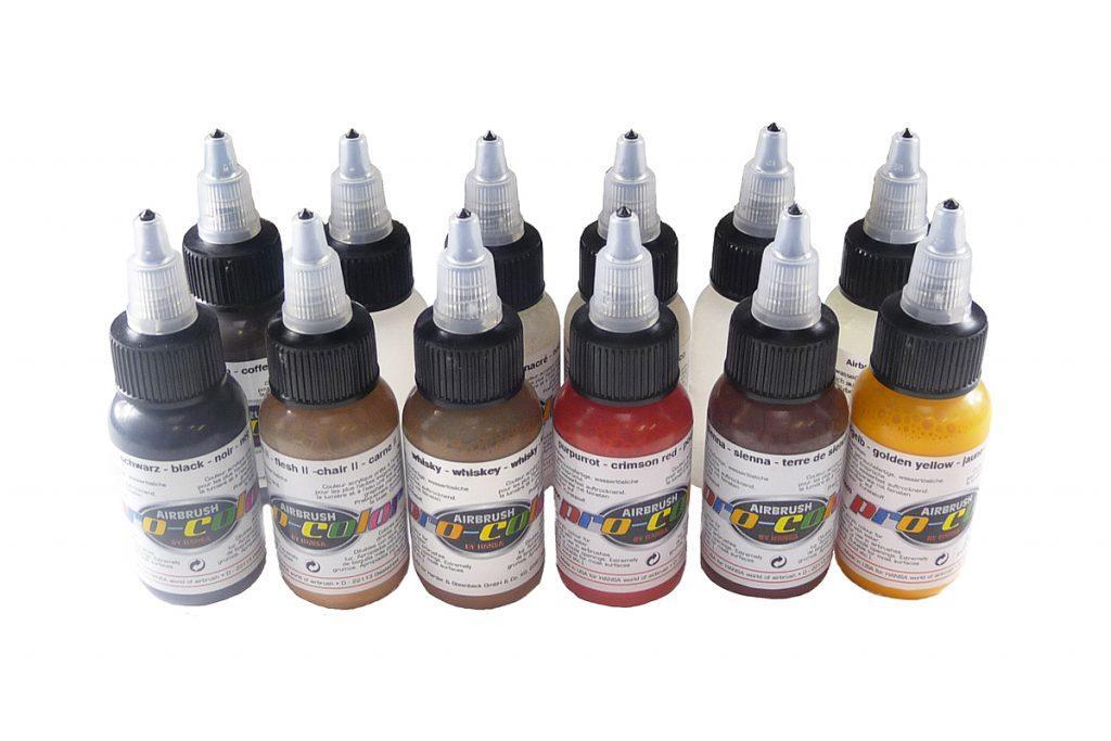 Набор красок для искусственного состаривания Pro-color 67060 weathering set