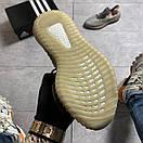 Женские Кроссовки Adidas Yeezy Boost 350 V2 Gray Orange / Адидас Изи Буст 350 В2 Серые Оранжевые, фото 3