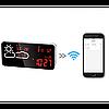 Цифрова метеостанція з годинником VST-882, фото 6