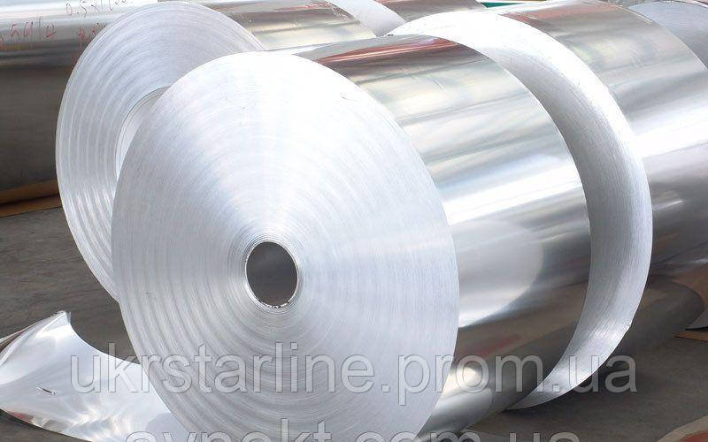 Фольга алюминиевая 0.08х1000 мм марка 8011М