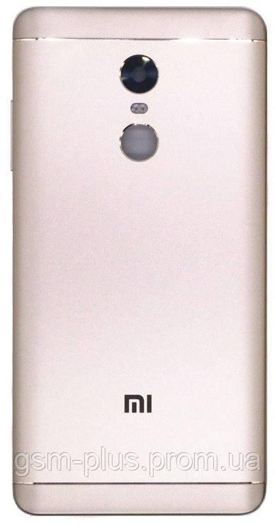 Задняя часть корпуса Xiaomi Redmi Note 4X Gold