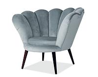 Кресло Magnolia Velvet ( Магнолия Вельвет серое)