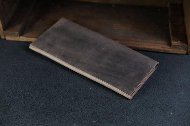 Гаманець клатч Молодіжний Вінтажна шкіра колір Шоколад, фото 2