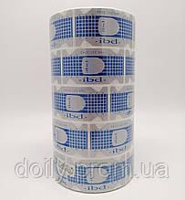 Формы для наращивания ногтей узкие IBD в рулоне (500 шт/рул, 5 рул/уп) Цвет: серебро