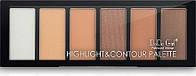 Палитра Для Контуринга DoDo Girl Professional Makeup Highlight & Contour Palette