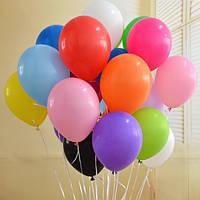 """Кульки повітряні """"Globos"""" середні 50шт (1/1)"""