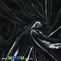Бархат итальянский шелковый, Ширина 20 см, Черный (TKN-036627)
