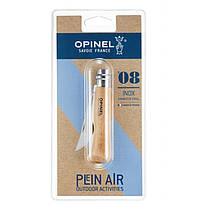 Нож Opinel (опинель) Inox Natural №8 VRI бук (000405) блистер, фото 2