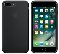 Чехол (Silicone Case) для iPhone 7 Plus / iPhone 8 Plus Black, фото 1
