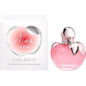 Миниатюра духов для женщин Nina Ricci Nina L'Eau 4ml (нежный, романтичный,очень женственный)