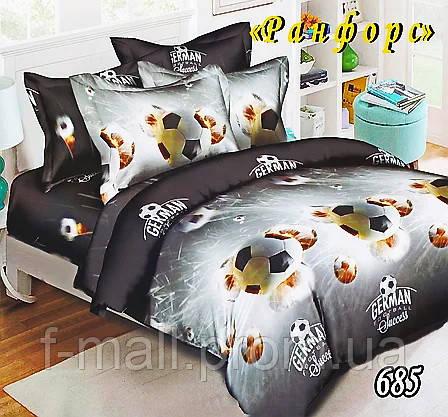Комплект детского постельного белья Тет-А-Тет (Украина) ранфорс полуторное (685)