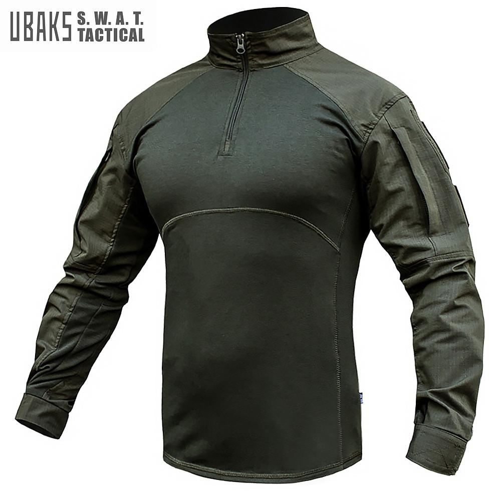 Рубашка UBACS тактическая S.W.A.T. ARMY OLIVE (ВИДЕО)