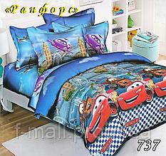 Комплект детского постельного белья Тет-А-Тет (Украина) ранфорс полуторное (737)