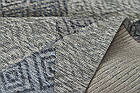 Ковер современный ALMINA 118514 1,6Х2,3 СЕРЫЙ прямоугольник, фото 4