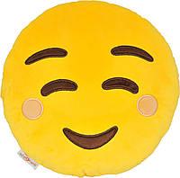Декоративна подушка Tigres емоджі Smile (ПД-0314)
