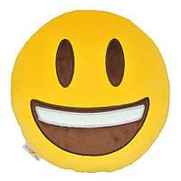 Декоративна подушка Tigres емоджі Happy (ПД-0316)