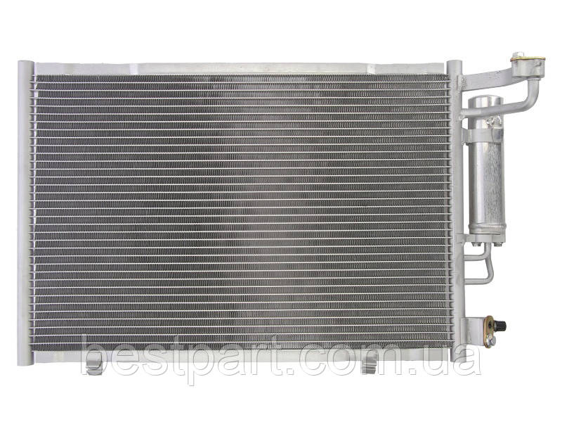 Радіатор кондиціонера  FORD FIESTA VI 1.25-1.6 06.08-