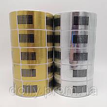 Формы для наращивания ногтей узкие в рулоне (500 шт/рул, 5 рул/уп)