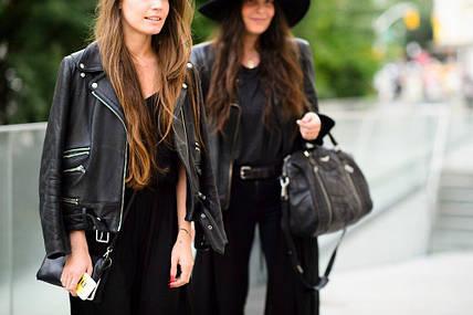 Вы любите кожаную одежду? Подбирайте сумки и аксессуары правильно!
