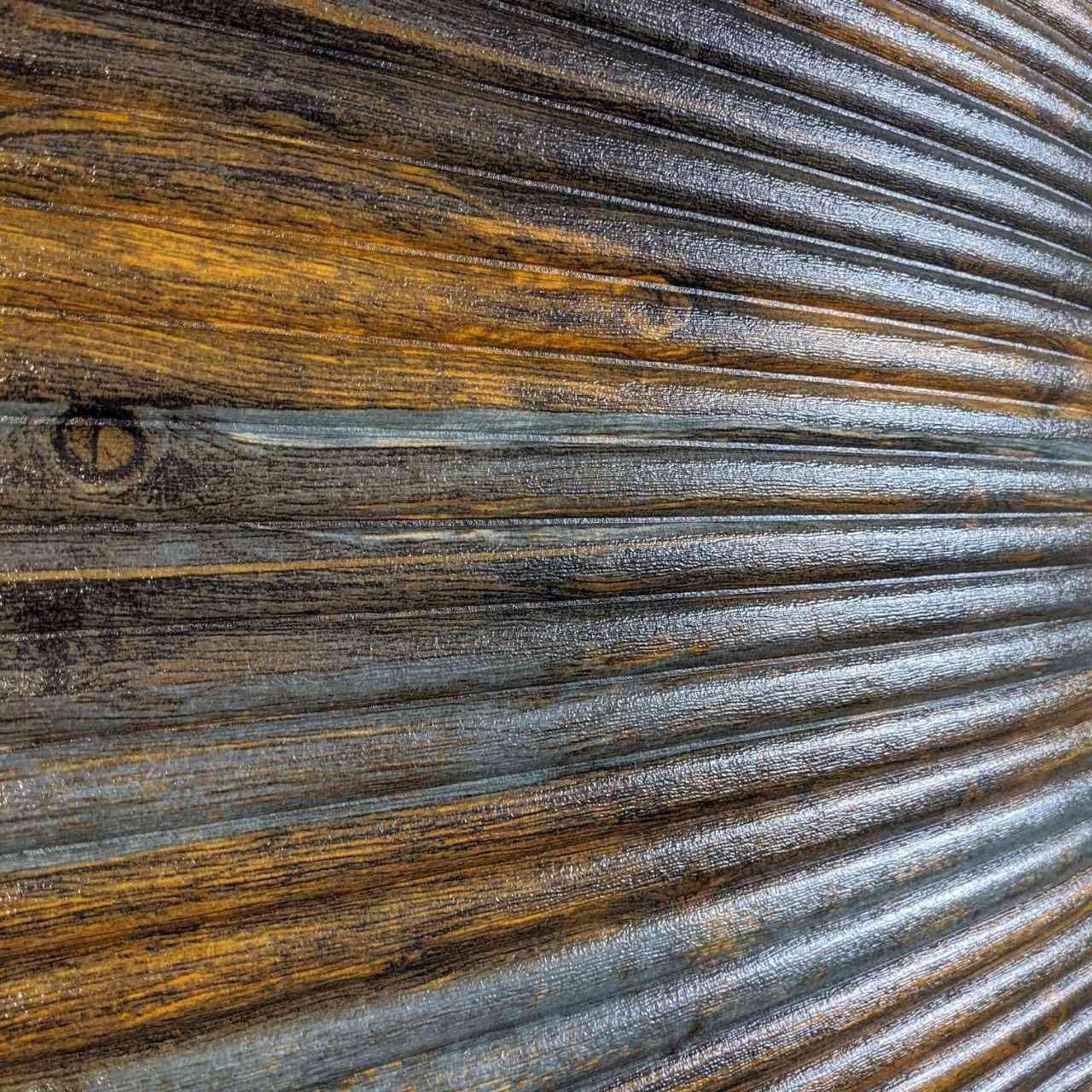 Самоклеящаяся декоративная 3D панель бамбук корчиневый с серым 700x700x9 мм (самоклейка, Мягкие 3D Панели)