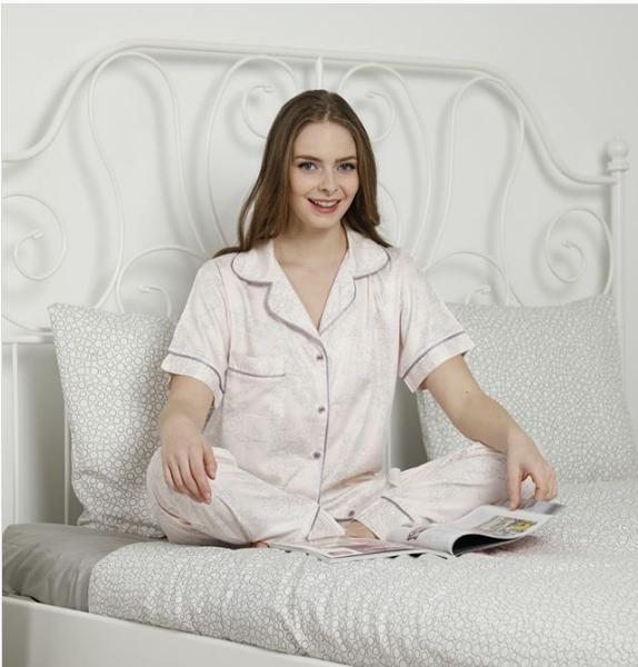 Піжама жіноча Le'Maries Homewear Miss-Deriana-pure-silk