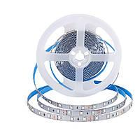 Светодиодная лента smd 2835 60led/м 12v ip20 белый премиум на синем термоскотче