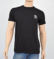 """Мужская футболка """"Премиум"""" Adidas (реплика) Черный, фото 1"""