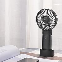Портативный вентилятор-PowerBank 4000mAh HOCO F11 Black