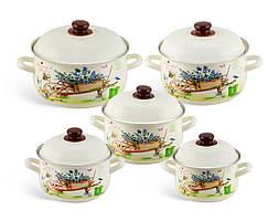 Набор эмалированной посуды 10 предметов  Edenberg EB-1876