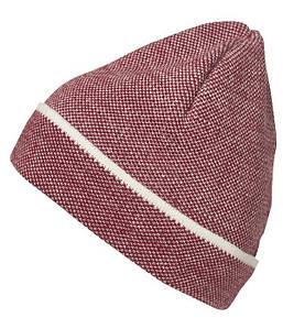Элегантная трикотажная шапочка MRDW Красный / Белый