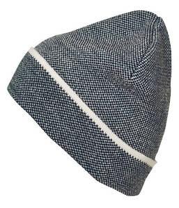 Элегантная трикотажная шапочка MNVW Тёмно-Синий / Белый