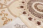 Коврик современный BONITA 2202 0,76Х2 БЕЖЕВЫЙ прямоугольник, фото 4
