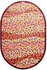 Ковер современный BONITA 3209 1,52Х2,3 РОЗОВЫЙ овал, фото 3