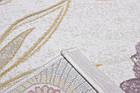 Коврик современный BONITA I264 0,76Х1,5 БЕЛЫЙ прямоугольник, фото 3