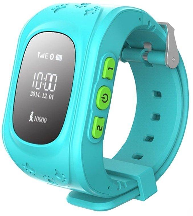 Смарт-часы Smart Baby W5 Q50 GW300 GPS Tracking Watch Blue (wOYZ13316)
