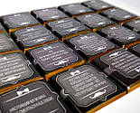 Шоколадний для справжнього чоловіка (100 г) - солодкий подарунок чоловікові - подарунок чоловікові-колезі шоколад, фото 3