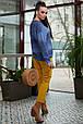 Яркий джемпер 6166.3995 синий (S-XХL), фото 3