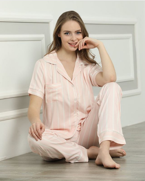 Пижама женская Le'Maries Homewear Miss-Agul-funny marshmallow