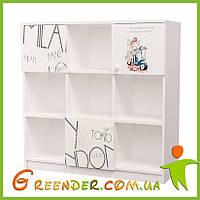 """Этажерки для книг """"Вояж"""" в детскую комнату"""