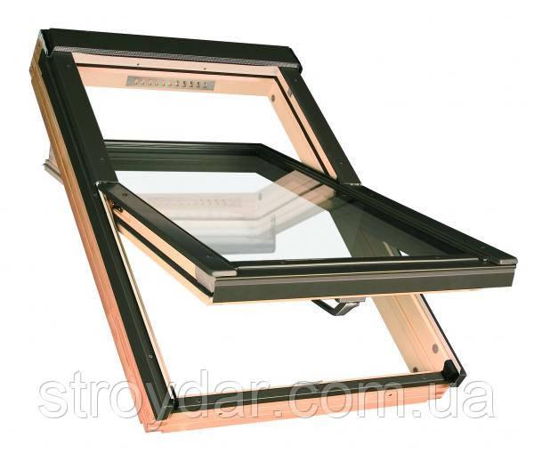 Мансардное окно FTU-V U3 55 х 98 белый