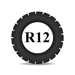 Резина на мотоблок R 12