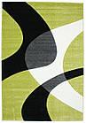 Коврик современный CALIFORNIA 0289 0,8Х1,5 Зеленый прямоугольник, фото 3