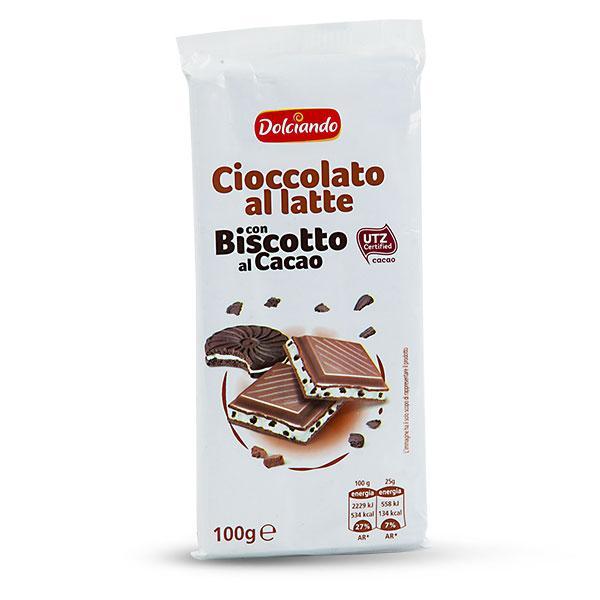 Шоколад cioccolato al latte