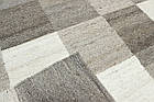 Ковер суконные Checker 1,6Х2,4 КОРИЧНЕВЫЙ прямоугольник, фото 3